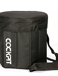 six places de coin de voiture lebosh portable boîte d'isolation extérieure multifonction conservation de la chaleur baril