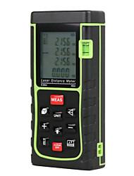 Medidor de distância de 40m / 131 pés de laser telêmetro digital de volume de fita métrica a laser / ferramenta ângulo tester