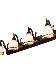 Mini Estilo Iluminación baño,Rústico/ Campestre E12/E14 Metal