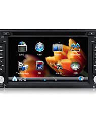 "2 Din In Dash Car DVD-speler/6.2 ""Touch Screen/GPS,Radio,Steering Wheel Control/Voor de meeste auto's,Volkswagen,Peugeot Citroën,Ford,Toyota,GM"