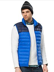 New Fashion Men's Winter Duck Down Ultra Light Casual Jackets Sleeveless Coats S-XXL
