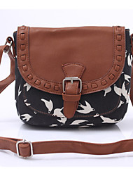 Women Acrylic Baguette Shoulder Bag - Animal Print