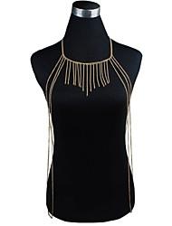 Fashion Alloy Sexy Bikini Tassel Body Chain