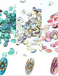 5PCS Shell Lines Rhinestone Nail Art Decorations