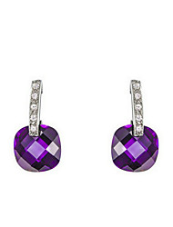 Drop Earrings Women's Alloy Earring Cubic Zirconia