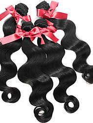 Peruvian Body Wave Hair Extensions 1pcs #1B Unprocessed Human Hair Body Wave Hair Wave Bundles 50g/pcs