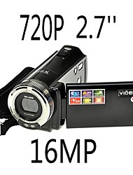 HD 720p 12mp digitaalisen videokameran kameran dv DVR 2,7 '' TFT LCD 16x zoom