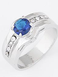 Korean Fashion Personality Sweet Korean Imitation Gem Rhinestone ring