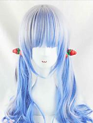 a melhor venda belas cores mista perucas sintéticas cosplay reta