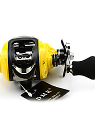 DMK DM120RE-C 14 Bearing Bait Casting Fishing Reel Gear Ratio 7.0:1 Max Drag 5kg Right Handle  Magnetic Brake