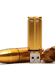 atacado bala modelo de memória USB 2.0 16GB unidade flash stick