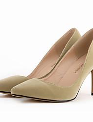 Women's Shoes Fabric Stiletto Heel Heels / Pointed Toe Heels Party & Evening / Dress / CasualBlack / Blue / Yellow