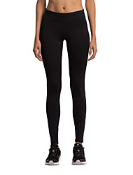 Course / Running Collants Femme Respirable Course/Running Vansydical Extensible Noir Couleur Pleine S / M / L / XL