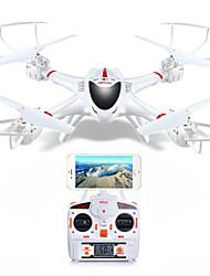 MJX x400-v2 rc aviones no tripulados de 4 canales 2,4 g de 6 ejes helicóptero cámara de 2MP HD FPV quadrocopters de control remoto con
