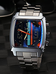 Men's Square Fashion Black Dial Auto Mechanical Watch Wrist Watch Cool Watch Unique Watch
