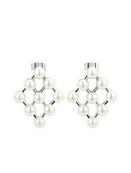 Stud Earrings Women's Imitation Pearl Earring Imitation Pearl