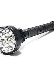 5 Светодиодные фонари LED 25000 Люмен 5 Режим Cree XM-L T6 Нет Ударопрочный Нескользящий захват Перезаряжаемый Водонепроницаемый ударный