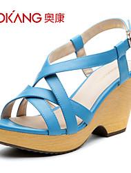 Aokang® Women's Leatherette Sandals - 132825247
