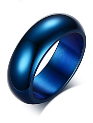 Z&X® Fashion Personality Titanium Wedding Steel Ring Band Rings Party / Daily / Casual 1pc