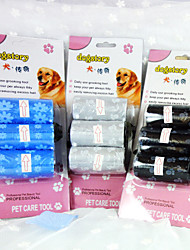 Printed Bags Suit Pet Bags Three Suits Dog Cleaning Supplies
