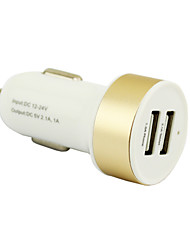 SHUNWEI Car Electronics 2.1A Dual-Port Rapid USB Car Charger Cigarette Charger