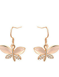 Drop Earrings Women's Alloy Earring Opal