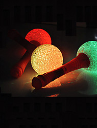 21*6.5CM Christmas Colorful Our Camping Ktv Party Activity Atmosphere A Night Light LED Lamp 1PC