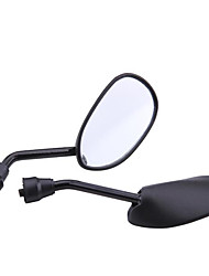 Pair Motorcycle Motorbike Side Rear View Mirror 8mm Black