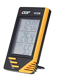 Виктор КПК закрытый цифровой измеритель температуры влажности термометр гигрометр