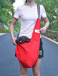 Katzen / Hunde Rucksack Rot / Blau Hundekleidung Frühling/Herbst einfarbig Wasserdicht