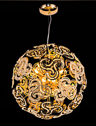 Simple Modern Chandelier Crystal Ball