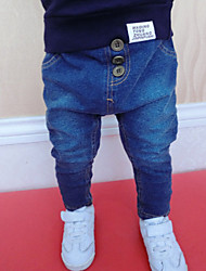 Boy's Cotton Pants Winter / Fall Knitting  Cowboy  Sport  Leisure Pants