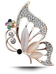 le nouveau tout-match de l'opale Broche papillon