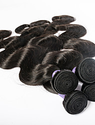 Top Grade 7A Peruvian Virgin Hair Human Hair Wet and Wavy Peruvian Hair Body Wave Mix Length 4pcs lot Free Shipping