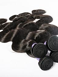 7a alto grau de cabelo humano peruano cabelo virgem molhados e ondulados cabelos peruano corpo mix de comprimento de onda 4pcs transporte