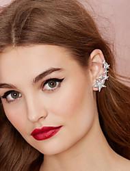 Ear Cuffs Alloy Cubic Zirconia Simulated Diamond Gold Silver Jewelry 2pcs