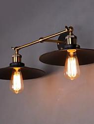 Candelabro de pared LED Rústico/ Campestre Metal
