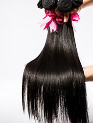 cheveux vierges top 3pcs qualité / lot brésilien soyeux cheveux vierges 8inch-30inch non transformés droite tisse
