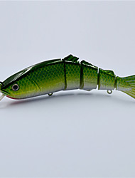 New 12.8 CM 19 Grams Hard Type Bait Fish Vivid Swim Action Jointed Fishing Lures