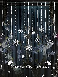 merry christmas weißen Schnee Dekoration PVC-Wandaufkleber Wandtattoos