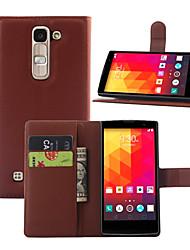 lichia em torno impasse aberto telefone coldre apropriado para LG magna / lg g4c (cores sortidas)