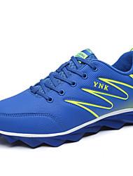 Sapatos Corrida Masculino Azul / Metalico / Preto e Vermelho / Preto e Branco Courino