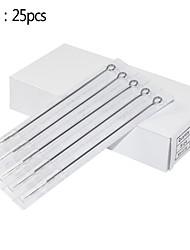 25pcs 3RL Sterilized Professional Tattoo Needles Super Tight Needles for Liner Tattoo Machines