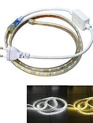 Jiawen impermeável 13W 850lm 60x5050 SMD LED faixa de luz flexível (1m de comprimento / 220v)
