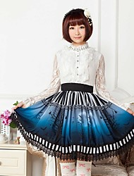 Blue  Halloween  Lolita  Skirt Lovely Cosplay