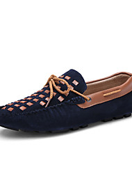 Men's Shoes Wedding / Outdoor / Office & Career / Party & Evening / Casual / Suede Boat Shoes Black / Blue / Brown /