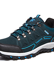 Men's Hiking Shoes Suede Blue
