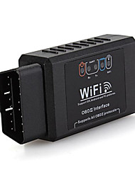 Wireless WiFi OBD2 OBDII Selbstautodiagnoseschnittstellenscan-Adapter für iPhone