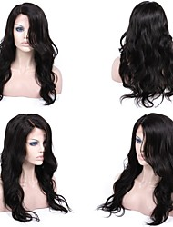 Premierwigs 8A 8''-26'' Big Natural Wave Brazilian Virgin Glueless Full Lace Human Hair Wigs Glueless Lace Front Wigs