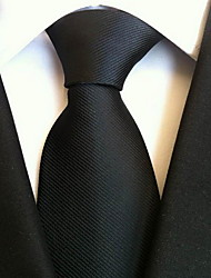 Men Wedding Cocktail Necktie At Work Black Tie